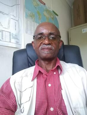 Station manager Mr. James Mwang'ombe