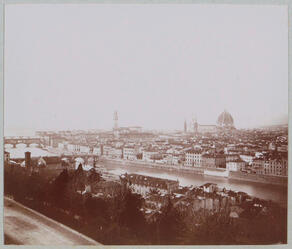 Historical picture of Florence, Italy.