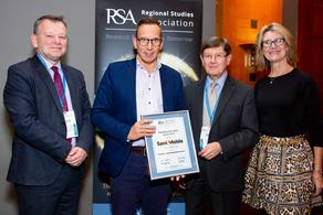 The RSA Routledge Best Book Award 2019 ceremony in London November 2019