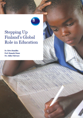 Stepping Up Finland's Global Role in Education Cover picture