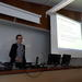 """Melanie Groß (Leiden University) discussing the ERC project """"Persia and Babylonia""""."""