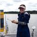 Also Siqi is happily using rhizons and excited about her porewaters from lake Kytäjärvi, southern Finland. © SZ / ABRU