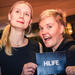After party: HiLIFE Head of Administration Jonna Katajisto and Senior Marketing Officer Anu Korhonen relaxed after all hard coordinating