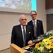 Dean Risto Renkonen and the Alumni of the Year 2020 for the Faculty of Medicine Jouko Lönnqvist