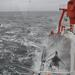 Stormy times on RV Alkor (GEOMAR Kiel). Days like these can be tough on the stomach, but they are also exciting opportunities to study the effects of storm events on sediment dynamics. © DH / ABRU