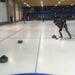One millimeter more - Sami getting highly competitive during ABRU´s pikkujoulu curling 2019. © IS / ABRU