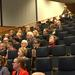 Audience at Biomedicum lecture hall 1