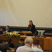 Co-chair of the organizing committee, Daria Gritsenko opens the Conference