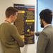 Posters were discussed by post docs, professors, lecturers, other MA students
