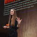 Natalie Koch gave a talk about smart cities, technofetishism and surveillance