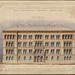 Architectural drawing: Arppeanum, 1866. Designed by Carl Albert Edelfelt. The building, which was completed in 1869, originally housed the university's museum collections and a chemistry laboratory.