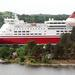 Viking line Isabella leaving Stockholm. Photo by Ari Helminen, licensed under CC BY 2.0