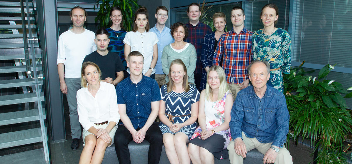 Laboratory of Neurobiology 2018 (missing from picture: Patricia Seja and Juha Voipio)