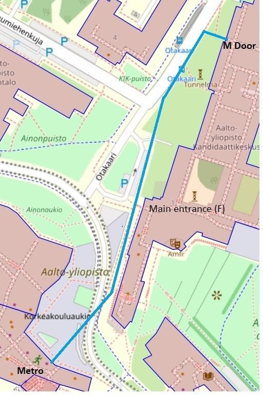 Practical Info About The Otaniemi Venue And Walking Tour