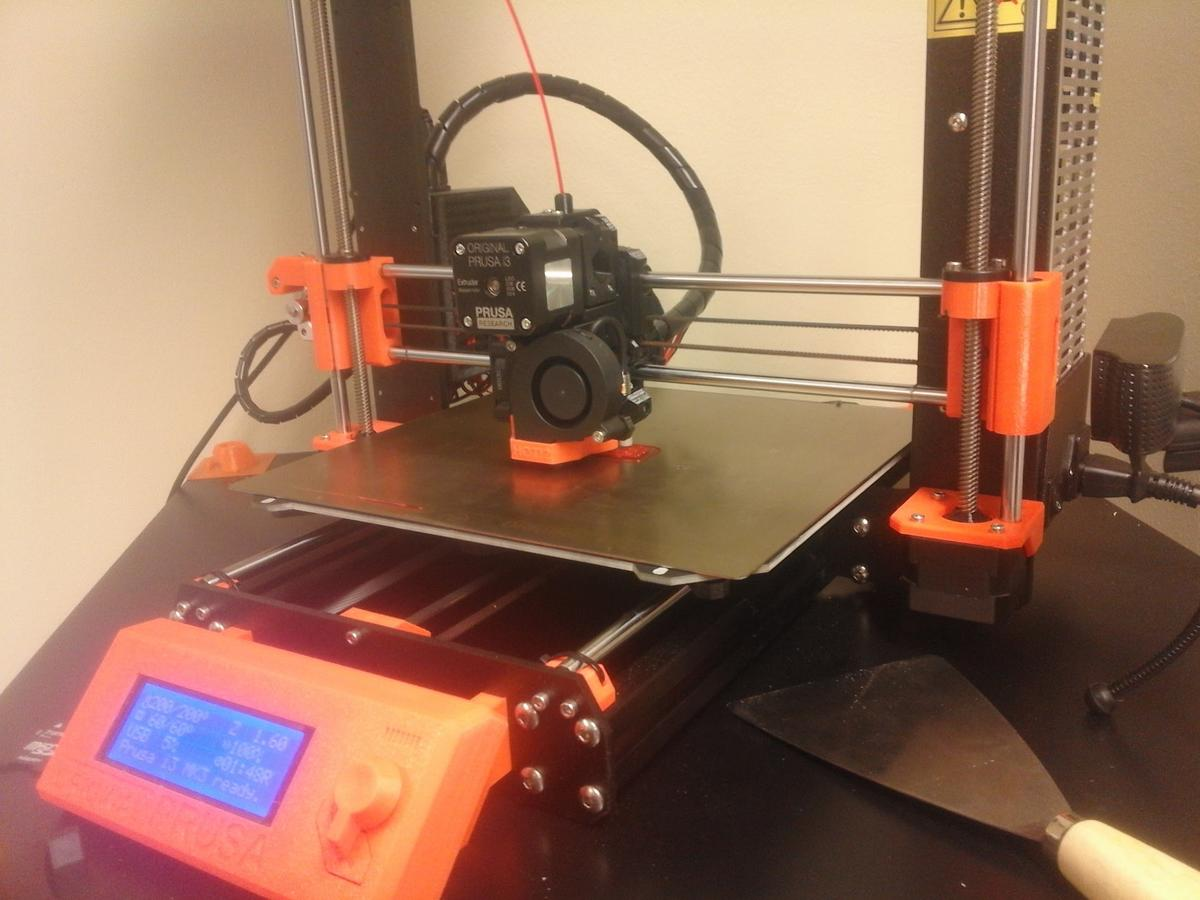 3D printing the tablet