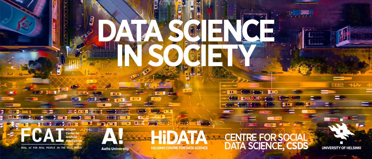Data Science in Society event (January 2020)