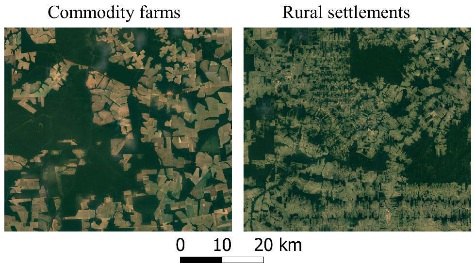 commodity farms and rural settlements