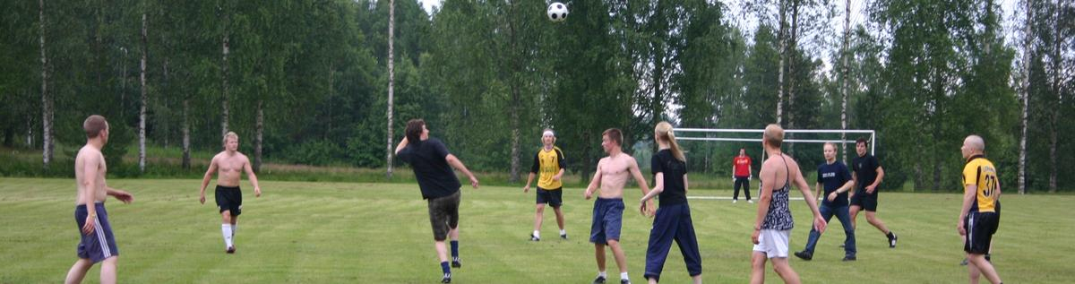 Hyytiälä football playing