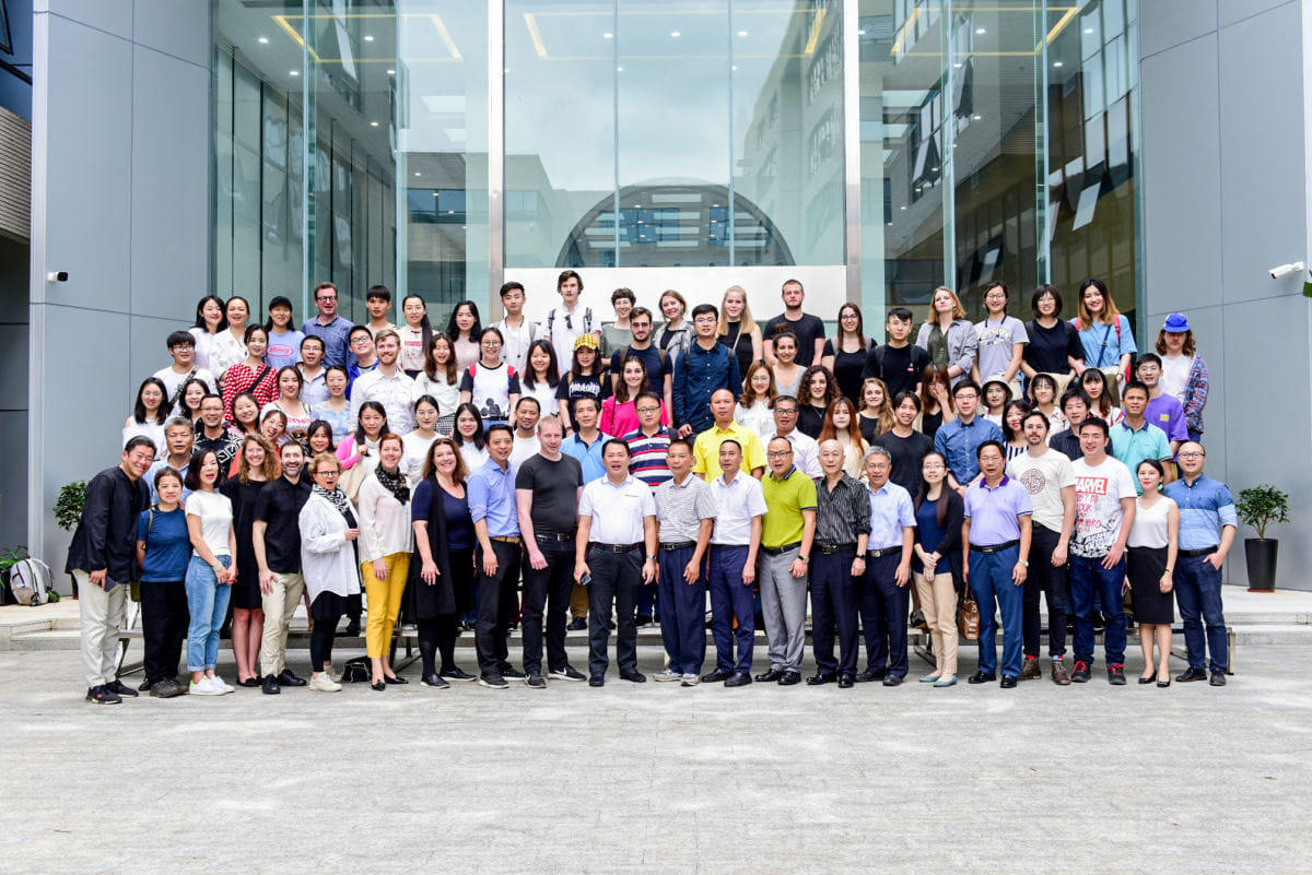 USP china 2019 group photo