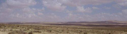 The valley of Nadra, an area of a palaeolake, in the central highland area of Jebel Bishri in Central Syria. Photo: Kenneth Lönnqvist (Silver) 2004.
