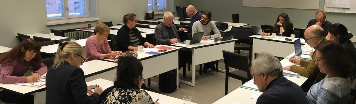 HuSoEd KOSS network collaboration in Helsinki in January 2018
