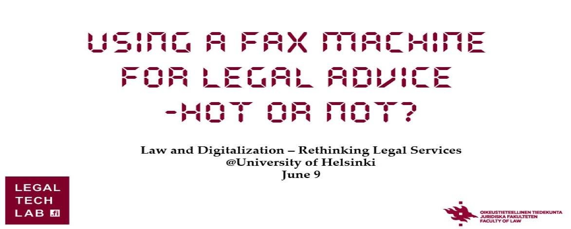 Law and Digitalization