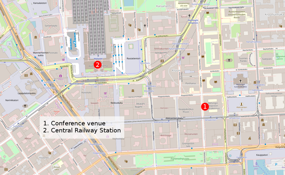 Location of the conference venue