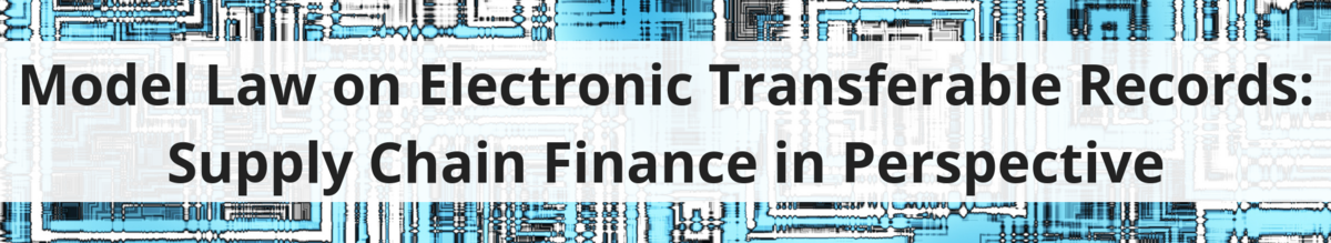 Model Law on Electronic Transferable Records