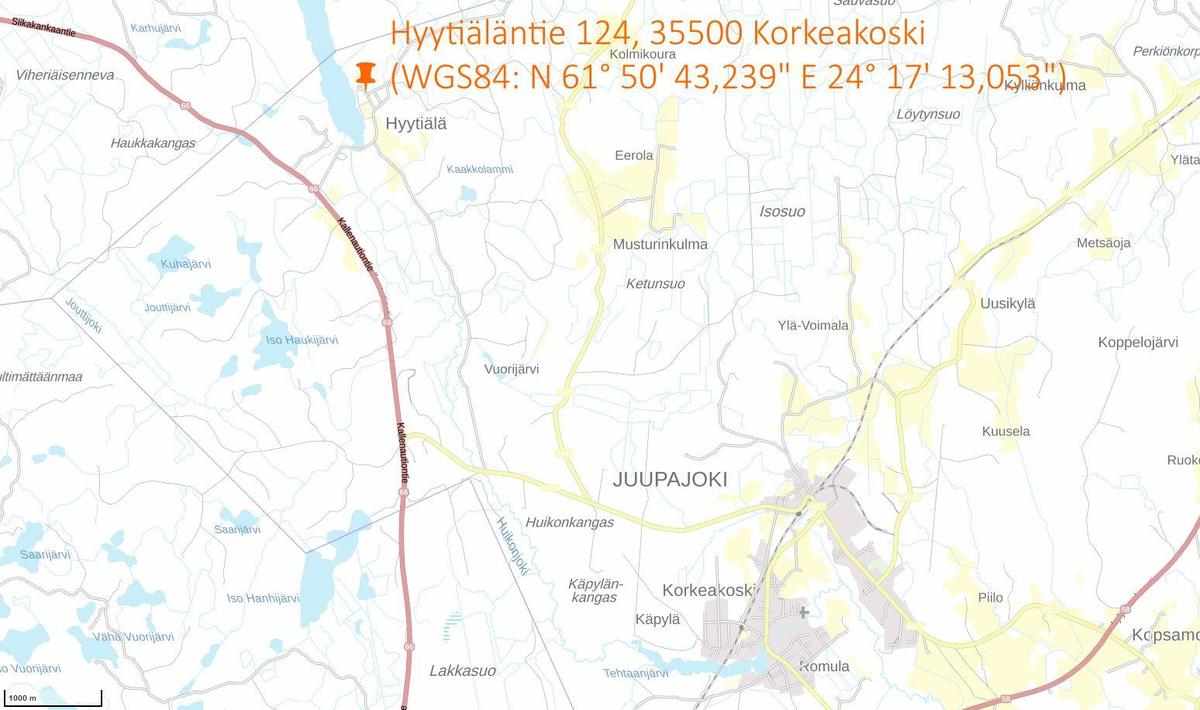 Hyytiälä location