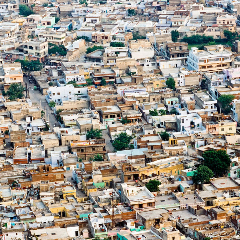 Urbanized areas cover only a fraction of the Earth's surface but their vast human populations determine the future of our societies.