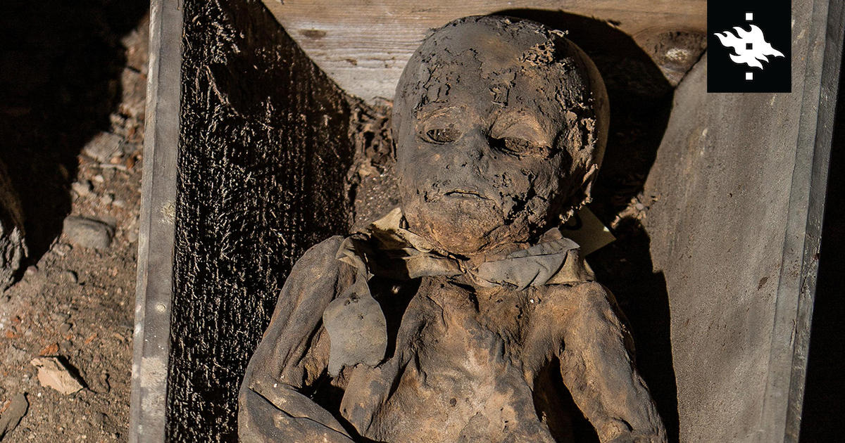 Smallpox virus found in a child's mummy changes our view