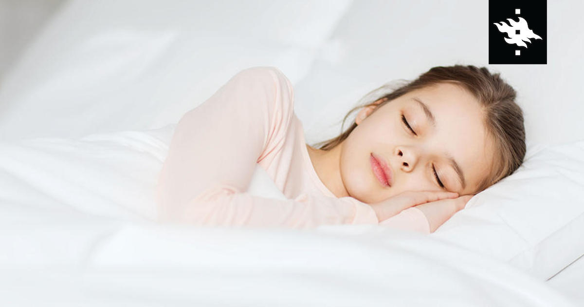 Too little sleep in childhood has negative effects on