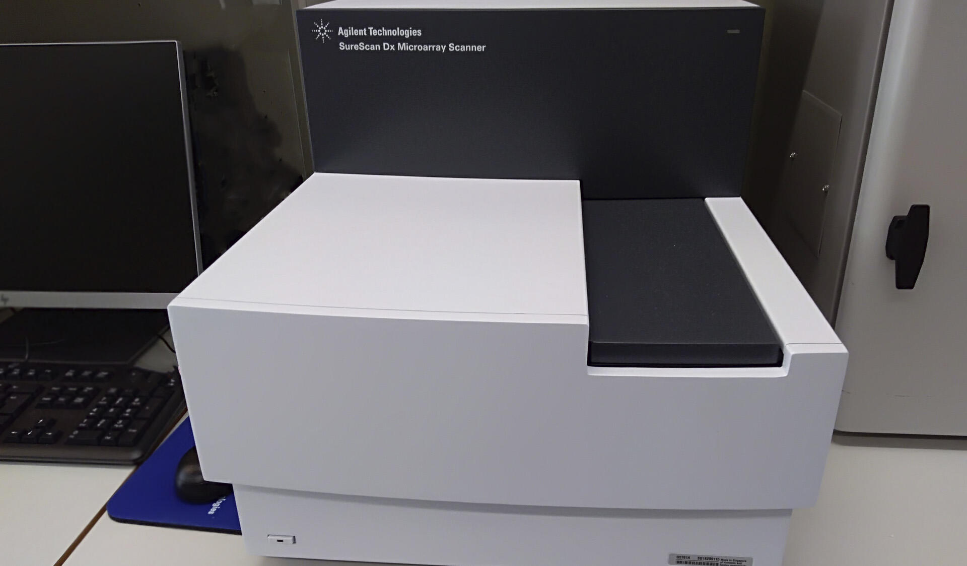 Agilent SureScan Dx Microarray Scanner is suitable also for diagnostic slides.