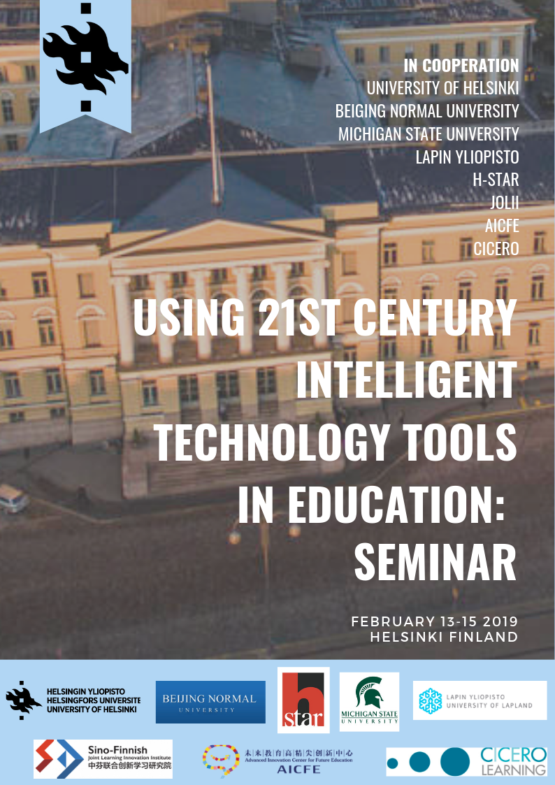 Using 21st century intelligent technology tools in education seminar picture