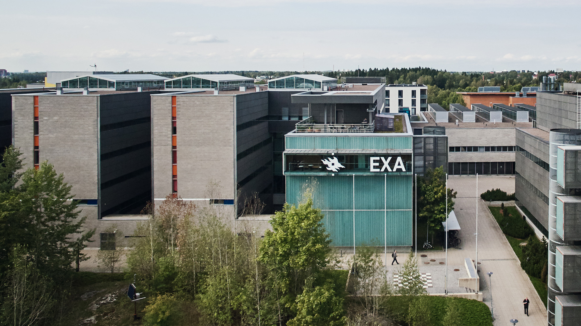 Exactum building at Kumpula Campus