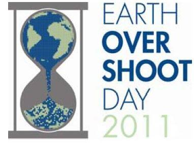 Earth over shoot day 2011