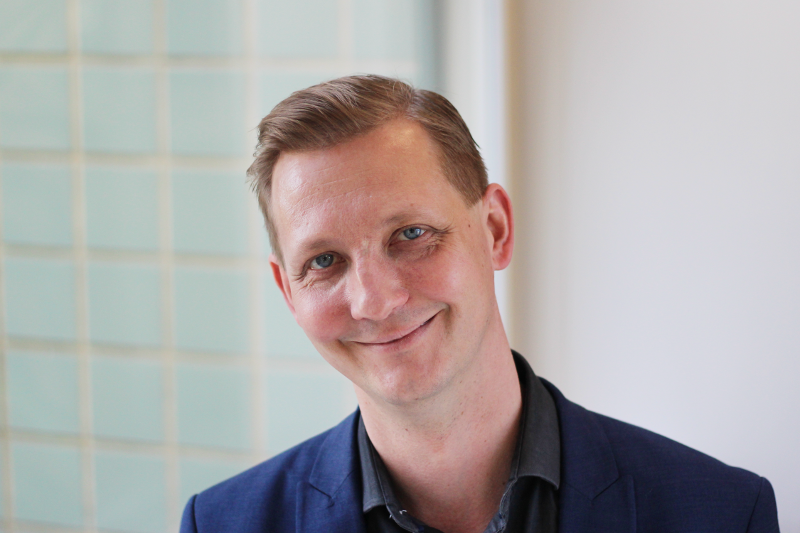 Group leader Mikko Airavaara at Airavaara lab, Institute of Biotechnology, University of Helsinki focused on Parkinson's disease, stroke and dopamine transmission and preclinical models; photo by Suvi Pöyhönen.
