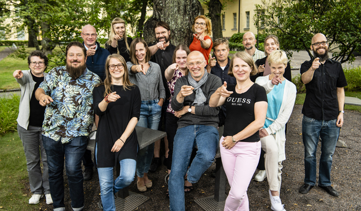 Staff of the Helsinki institute for Social Sciences and Humanities