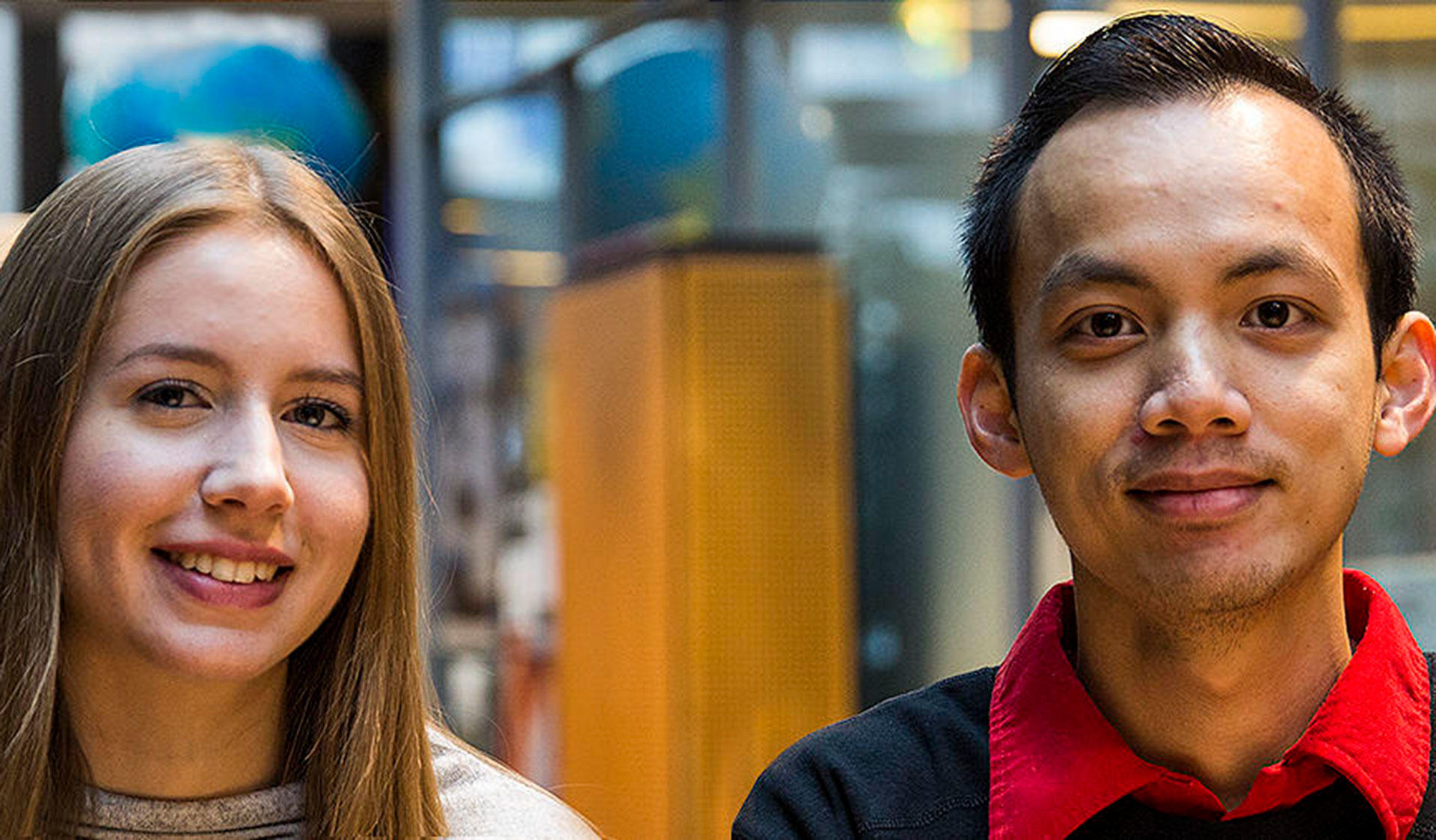 Melina Vuorinen and Thanh Dao-Cong are students in the Bachelor's Programme in Science at the University of Helsinki.