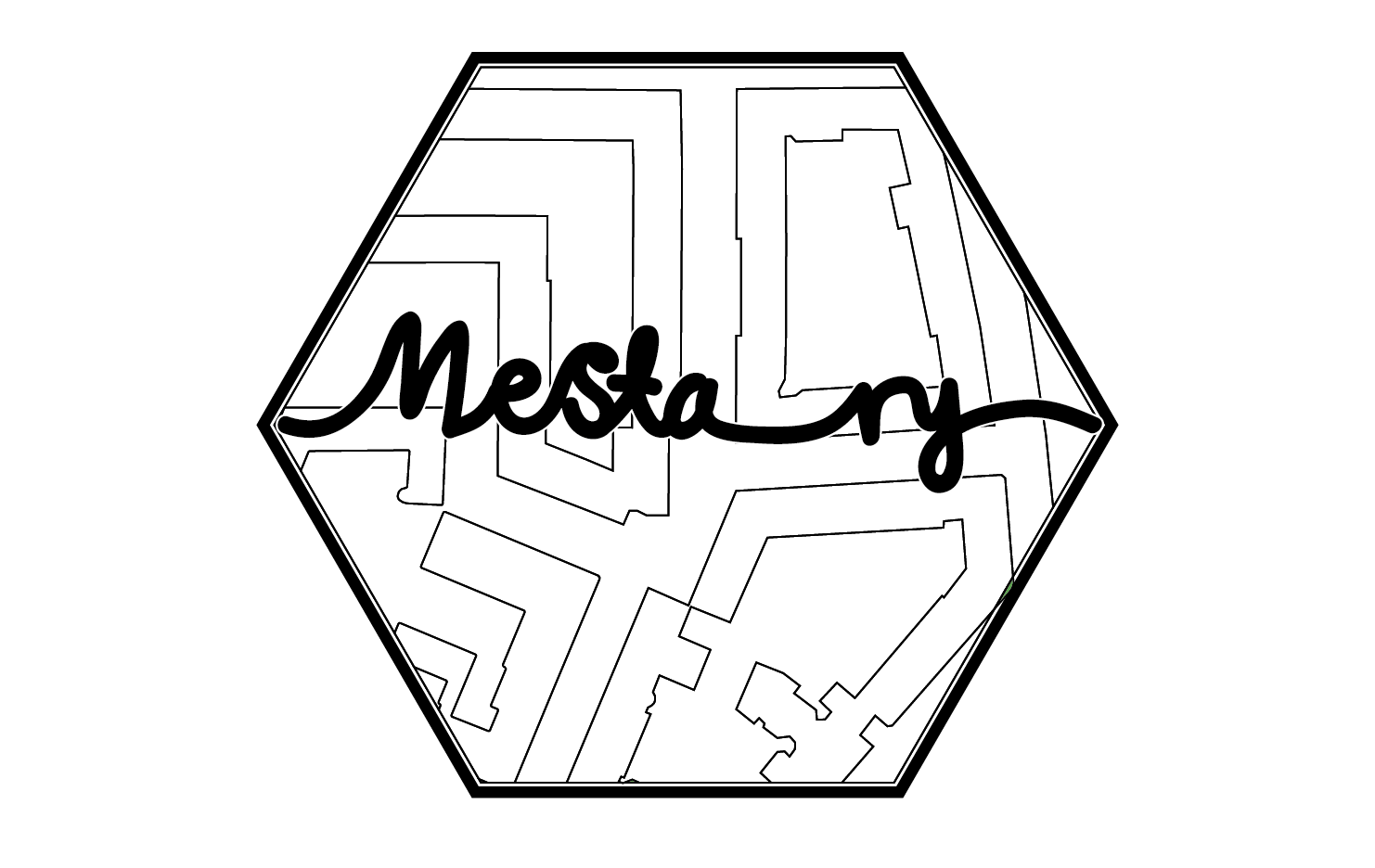 Logo of Mesta ry, the student organization of USP
