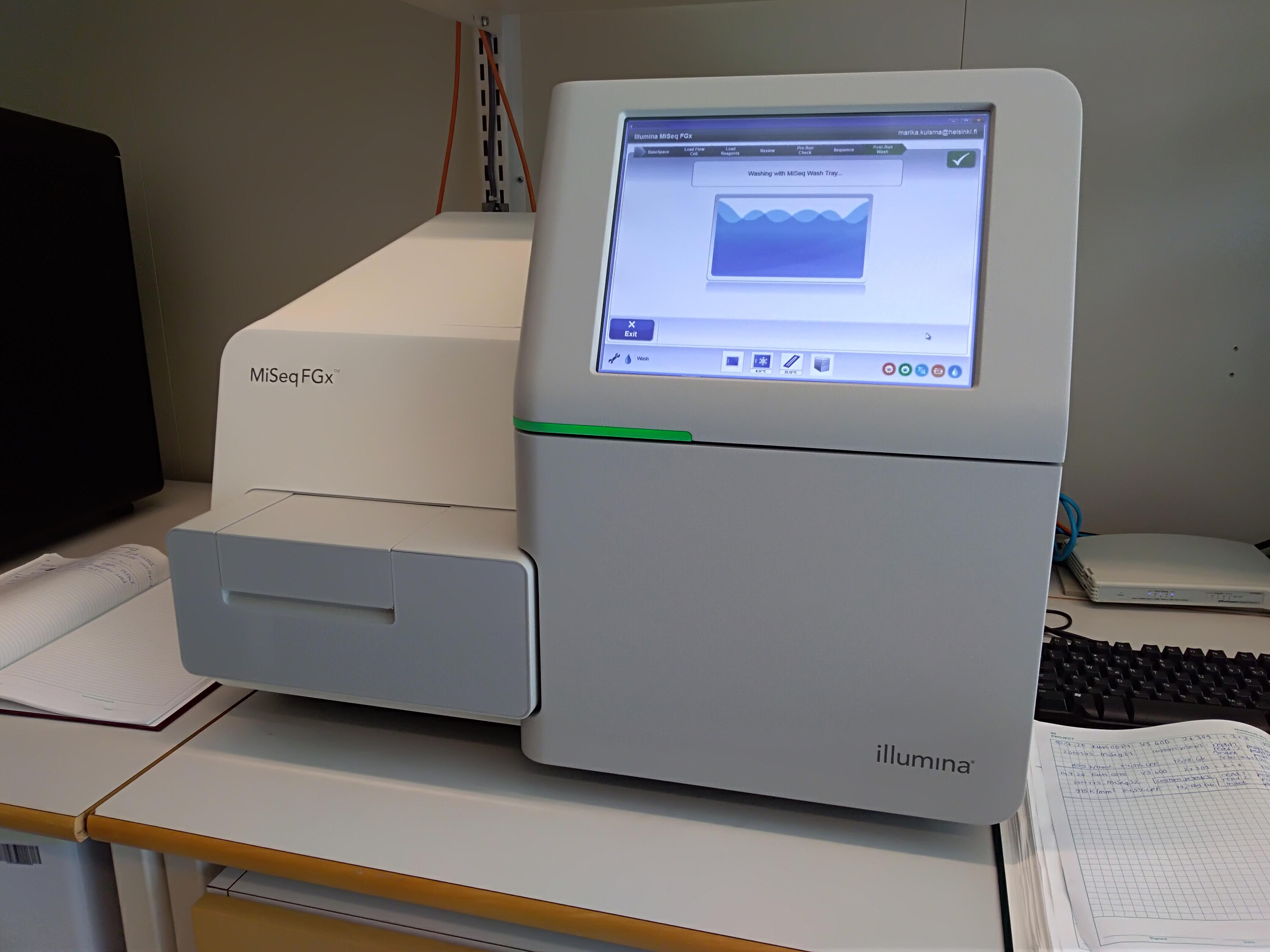 The MiSeq FGx System is optimal for targeted sequencing as well as for small genomes, and it is the first and only next-generation sequencing (NGS) instrument developed and validated for forensic genomics.