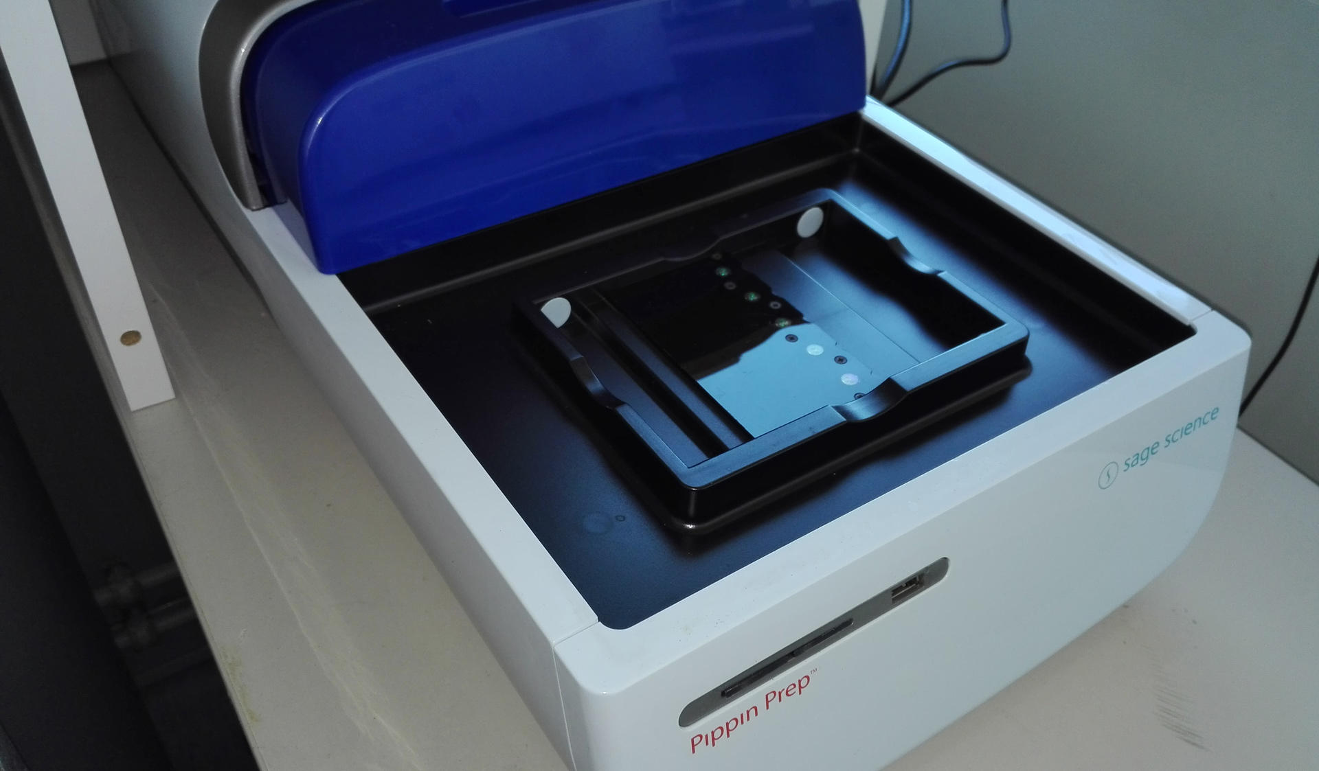MES Labs Pippin Prep size selection machine can be great help for the library preparations.