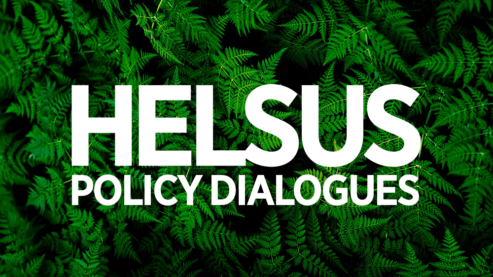 Helsus policy dialogues logo