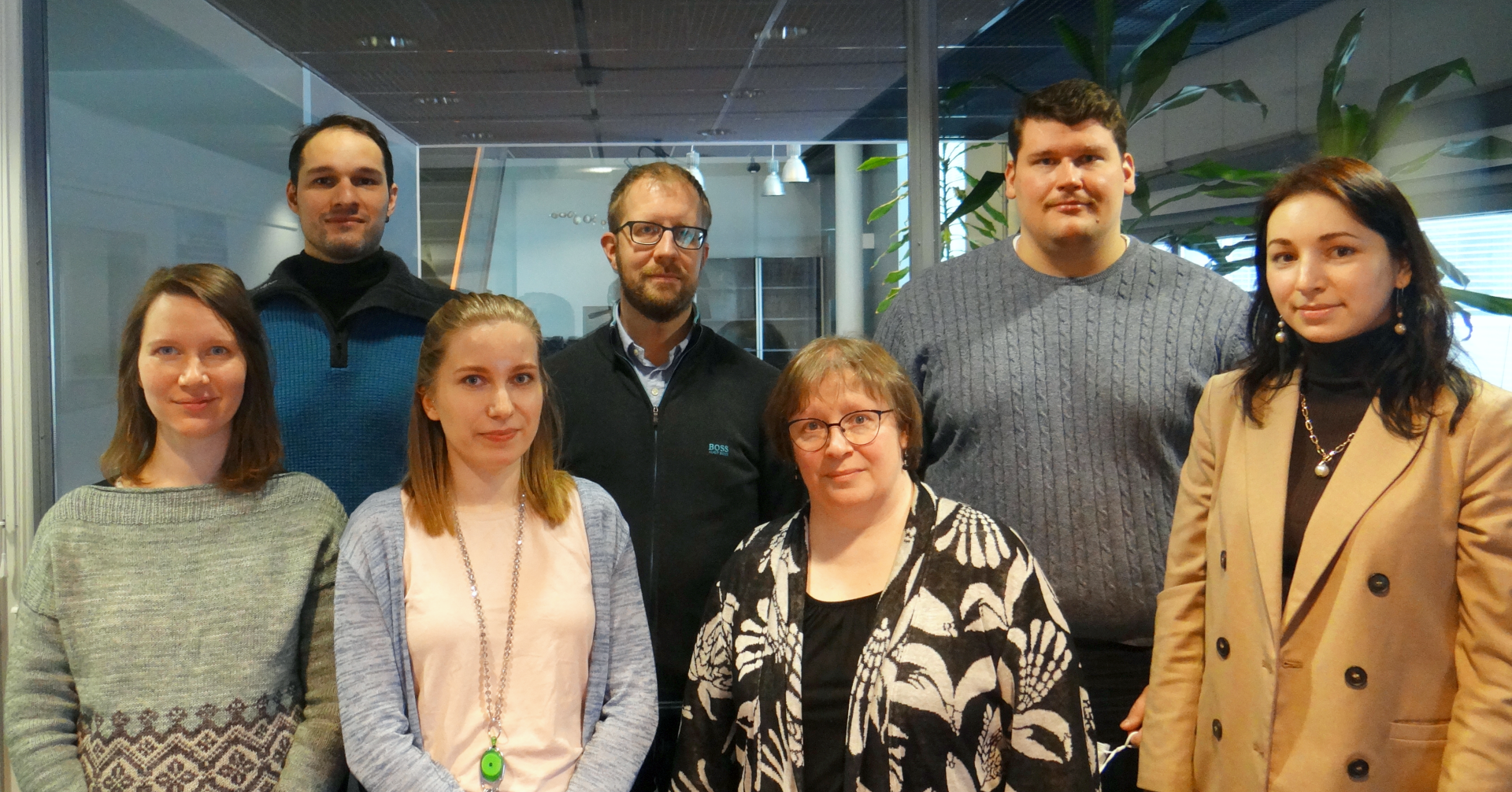 Group Photo the team in Tampere University Spring 2021
