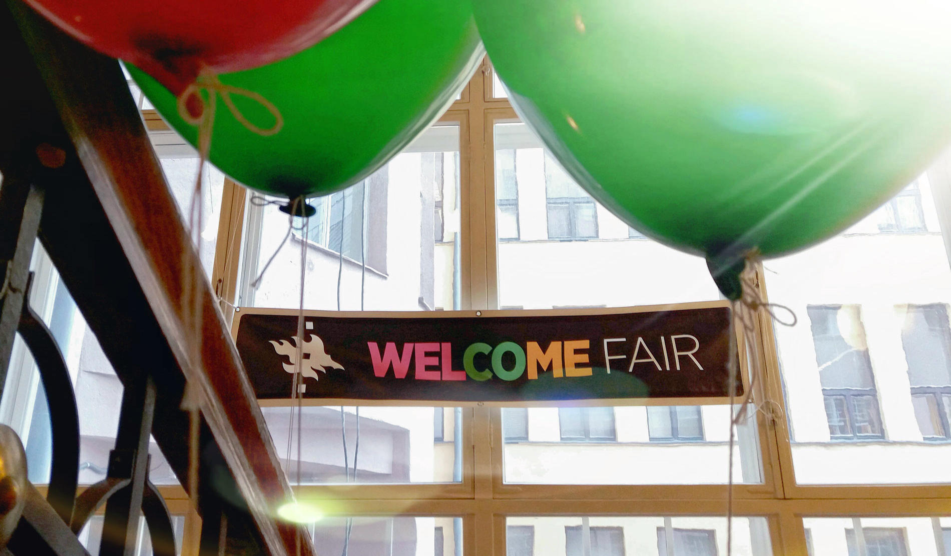 At the University of Helsinki, you can take care of admin and meet your peers at the Welcome Fair.