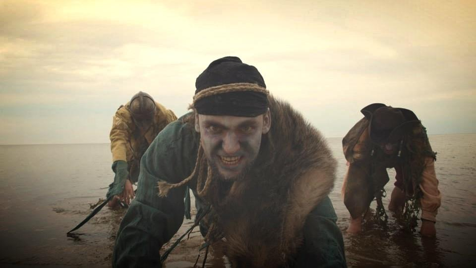 """Zombies of """"Baltic Warriors"""" live action role play"""